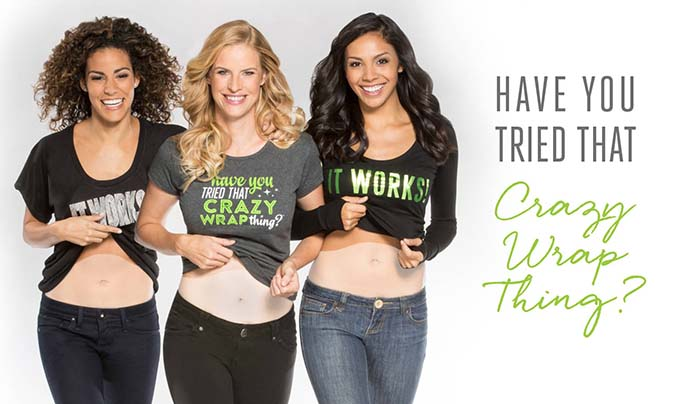 It Works Body Wraps - Have You tried That Crazy Wrap Thing?