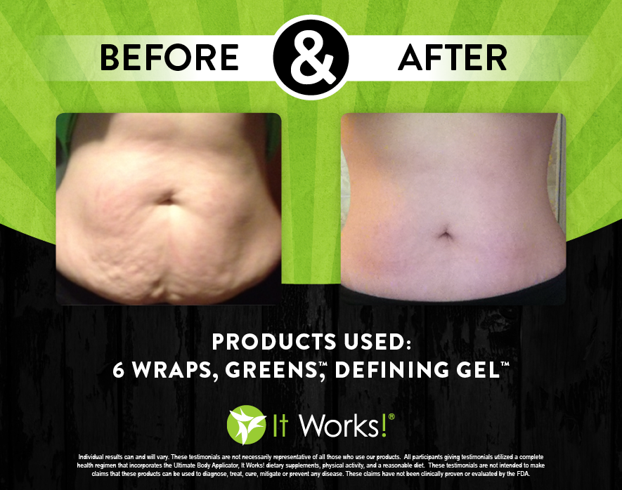 It Works Body Wraps Before And After Pictures