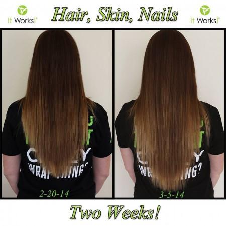 Hair Skin Nails - It Works Body Wraps - Canada